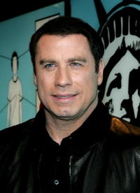 John Travolta at MTV's Total Request Live at MTV's Times Square Studios.