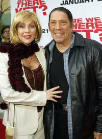 Debbie and Danny Trejo at the premiere of