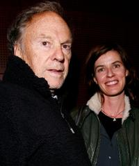 Jean-Louis Trintignant and Irene Jacob at the premiere of