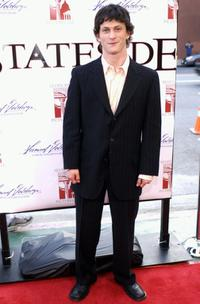 Jonathan Tucker at the Los Angeles premiere of