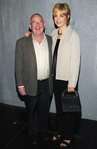 Michael Tucker and Jill Eikenberry at the opening of The Great American Trailer Parker Musical.