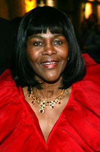 Cicely Tyson at the New York opening night of