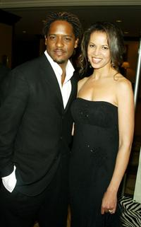 Blair Underwood and his wife Desiree at the 10th Annual