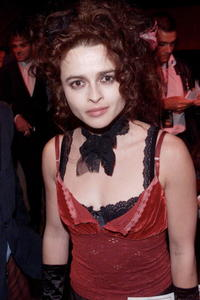 """Helena Bonham Carter at the after show party for the premiere of """"Moulin Rouge"""" in London."""