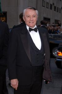 Robert Vaughn at the NBC 75th Anniversary celebration.