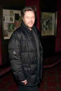 Christopher Walken at the New York premiere of