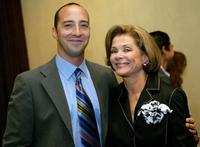 Jessica Walter and Tony Hale pose at the 21st Annual Television Critics Association cocktail reception.
