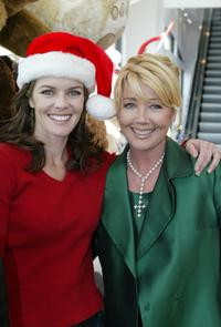 Susan Walters and Melody Thomas Scott at the Young and the Restless