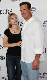 Patrick Warburton and Guest at the CBS Comedies Season premiere Party.