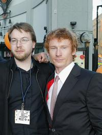 Director Sven Pape and Zack Ward at the world premiere of
