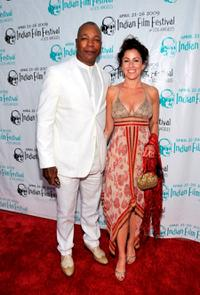 Carl Weathers and Mara Nahdar at the 7th Annual Indian Film Festival.