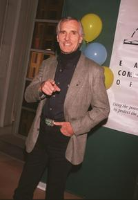 Dennis Weaver at the Los Angeles premiere of