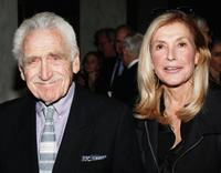 James Whitmore and Ramona Ripston at the ACLU of Southern California's Annual Bill of Rights dinner.