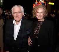 James Whitmore and Noreen at the premiere of