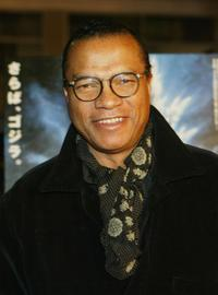 Billy Dee Williams at the premiere of