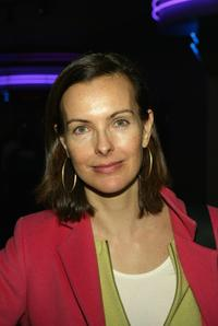 Carole Bouquet at the Tribeca Film Festival screening of