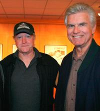 Scott Wilson and Kent McCord at the screening of