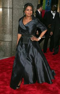 Oprah Winfrey at the 60th Annual Tony Awards at Radio City Music Hall.