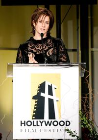 Debra Winger at the Hollywood Film Festival 10th Annual Hollywood Awards Gala Ceremony at the Beverly Hilton.