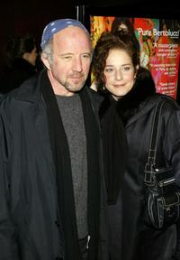 Debra Winger and Arliss Howard at the premiere of