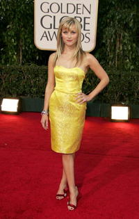 Reese Witherspoon at the 64th Annual Golden Globe Awards in Beverly Hills.