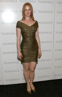 Alicia Witt at the Tadashi 2008 Fashion Show during the Mercedes-Benz Fashion Week Spring 2008.