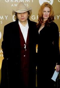 Dwight Yoakam and guest at the 46th Annual Grammy Awards.