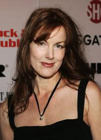 Kathleen York at the Lionsgate and Showtime party honoring Golden Globe nominees.