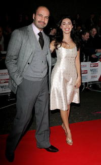 Billy Zane and Kelly Brook at the Daily Mirror's Pride Of Britain Awards.