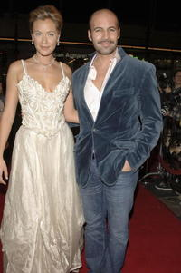 Billy Zane and Kristanna Loken at the premiere of