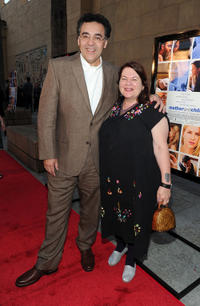 Rodrigo Garcia and Allison Anders at the California premiere of