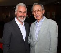 Rick Baker and Dick Smith at the Academy of Motion Picture Arts and Sciences Samuel Goldwyn Theater.