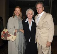 Warren Beatty, Annette Bening and Jean Picker at the AFI's 40th Anniversary Celebration Lunch.