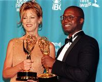 Andre Braugher and Christine Lahti at the 50th Annual Primetime Emmy Awards.