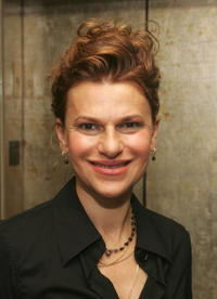 Sandra Bernhard at the after party for the special screening of