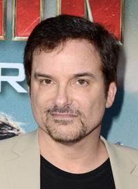Director Shane Black at the California premiere of