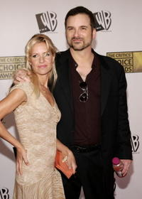 Shane Black and Guest at the 11th Annual Critics' Choice Awards.