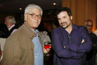 Director Richard Donner and Shane Black at the screening of