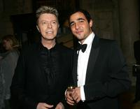 David Bowie and Zac Posen at the 2005 CFDA Awards.