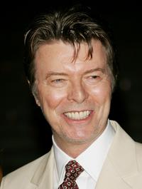 David Bowie at the Vanity Fair 2007 Tribeca Film Festival Party.