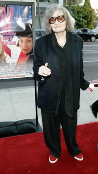Eileen Brennan at the Academy of Motion Pictures Arts and Sciences, attends the premiere of