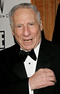 Mel Brooks at Trader Vics for Weinstein Co. Golden Globe after party.