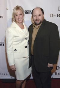 Jason Alexander and Alyce Alston at the opening celebration gala for Geffen Playhouse.