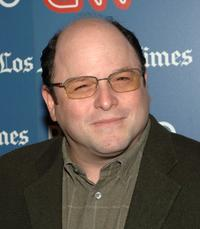 Jason Alexander at the CNN, LA Times, POLITICO Democratic Debate.