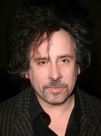 Tim Burton at the special screening of
