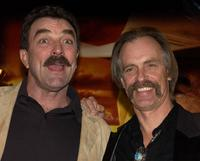 Keith Carradine and Tom Selleck for the premiere of the TNT television movie