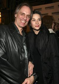 Keith Carradine and Haley DuMond at New York City for the Broadway opening of