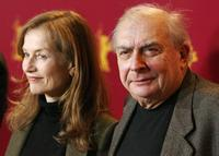 Claude Chabrol and Isabelle Huppert at the 56th Berlin International Film Festival for the premiere of