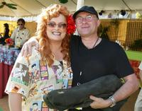 Phil Collins and Wynonna at the premiere and after-party for