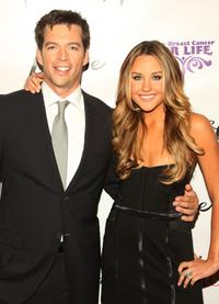 Harry Connick, Jr. and Amanda Bynes at the premiere of